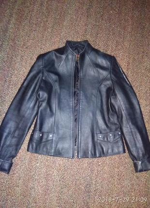 Срочно!!!кожаный пиджак