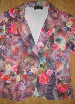 Квітковий піджак v&s р.s