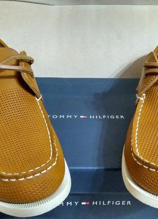 Топсайдеры tommy hilfiger men´s bowman boat shoe 10 43 р. оригинал
