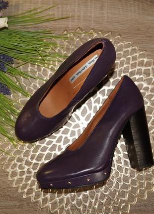 (38р./25см) & other stories! кожа! красивые туфли на удобном каблуке