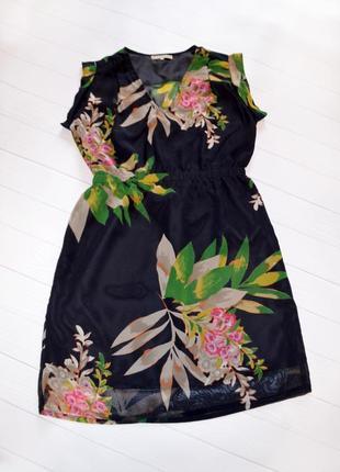 Новое шифоновое платье anna field, размер s