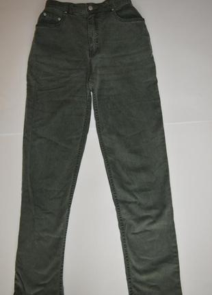 Mom джинсы m&s высокая посадка