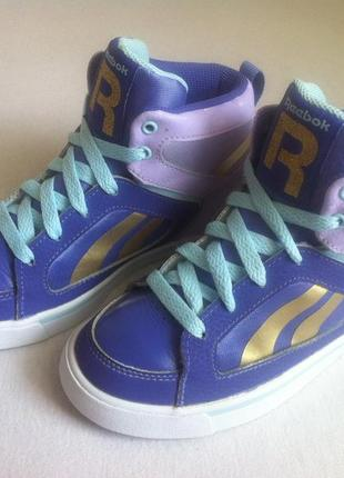 Мега стильные демисезонные кроссовки reebok размер 31 стелька 19 9ba343cdaeea8
