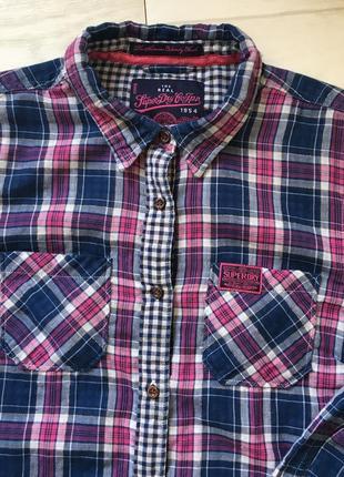 Красивая рубашка superdry
