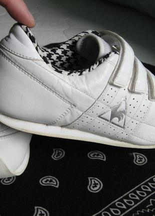 Кроссовки le coq sportif оригинал кожаные 37.5 размер по стельке 24.5