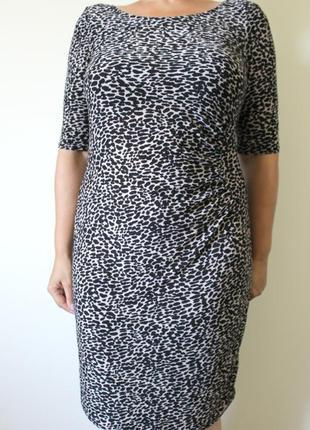 Элегантное трикотажное платье f&f