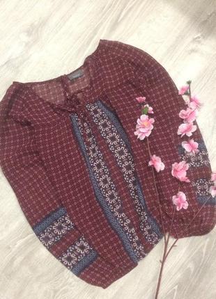 Красивая шифоновая блуз yessica