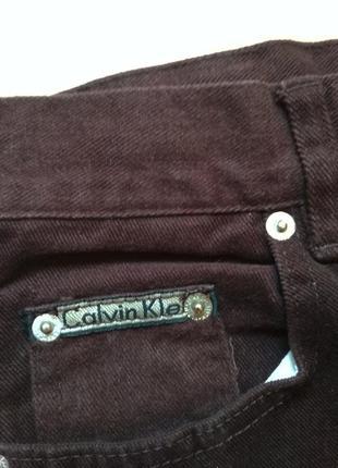 Джинсы calvin klein с завышенной талией