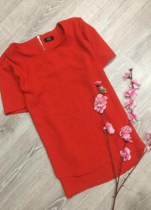 Красная блуза f&f