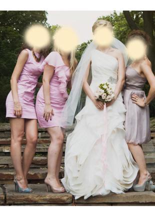 Свадебное платье vera wang, модель vw351010
