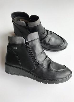 Кожаные ботиночки tamaris 38р