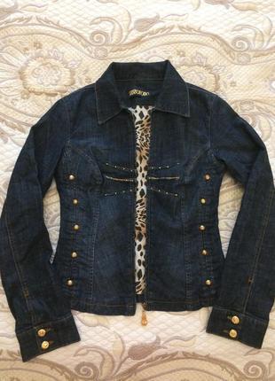 Стильная джинсовая курточка sassofono