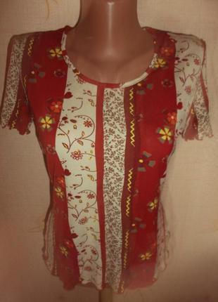 Блузка цветная р. м - s.oliver