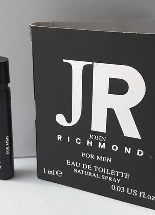 Пробник 1 мл туалетной воды john richmond john richmond for men, великобритания