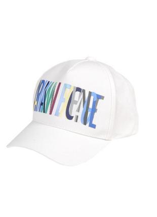Белая кепка armani exchange