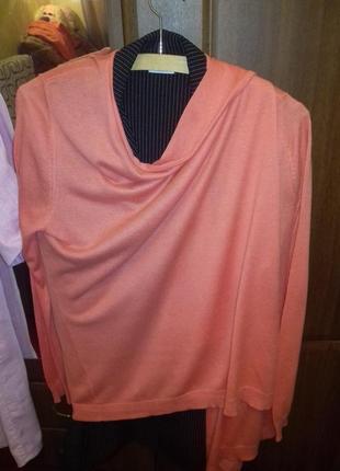 Персиковый, розовый кардиган нема(нидерланды) oversize