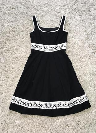 """Красиве модне плаття / сарафан з пишною спідничкою / сукня / платье """"m&s"""""""