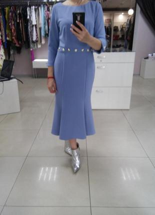 Красивое платье миди италия