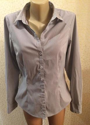Базовая рубашка в полоску от h&m