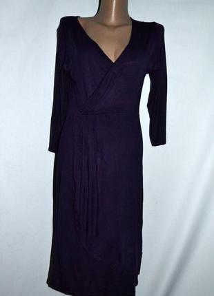 Шикарное длинное фиолетовое платья!