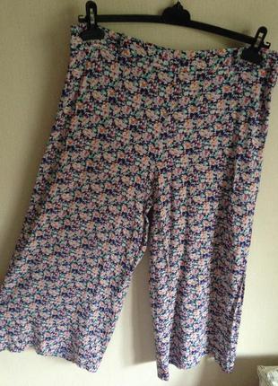 Укороченные юбка-брюки
