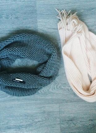 2 шарфа 30 грн