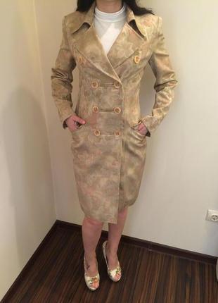 Стильная двойка для бизнес вумен: плащик + юбка
