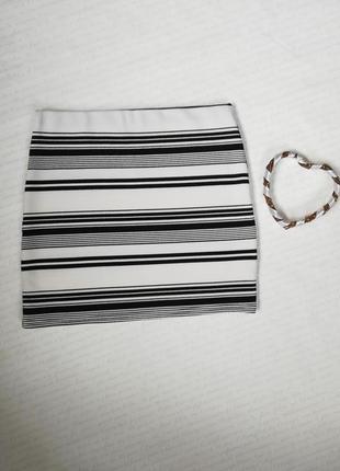 Стильная юбка мини new look, размер s