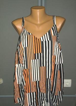 Топ блуза кофточка большого размера f&f