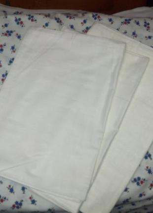 Новые  белые наволочки в ассортименте,60*60см,70*70см.,73*73,бязь.