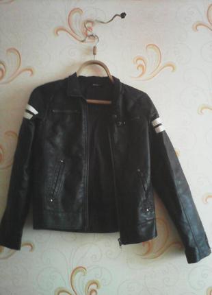 Куртка кожанка / косуха , рокерская 😸
