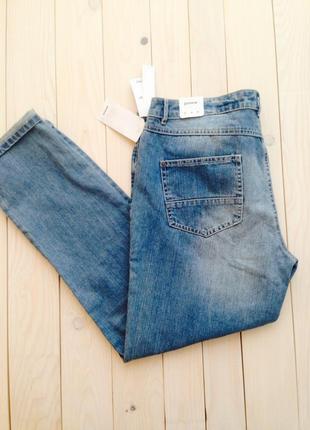Голубые джинсы бойфренды pimkie