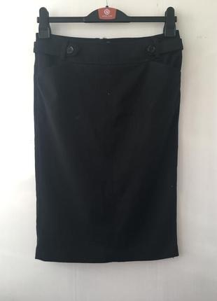 Классическая юбка карандаш, деловая юбка миди