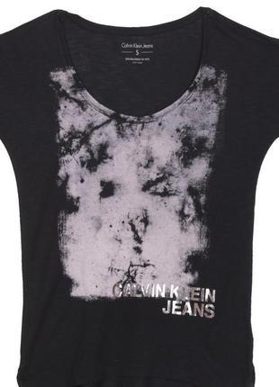 Женская футболка calvin klein s оригинал