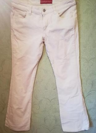 Вельветовые джинсы levi's  расклешенного покроя