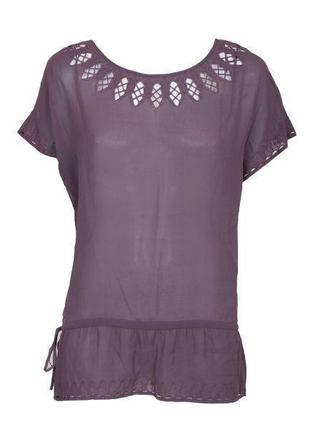 Шелковая блуза massimo dutti