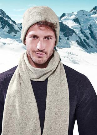 Теплый флисовый шарф на байке тсм чибо.германия.20х180