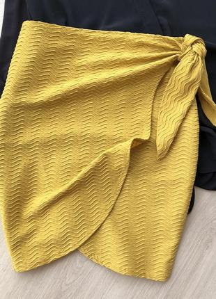 Стильная юбка на запах missguided