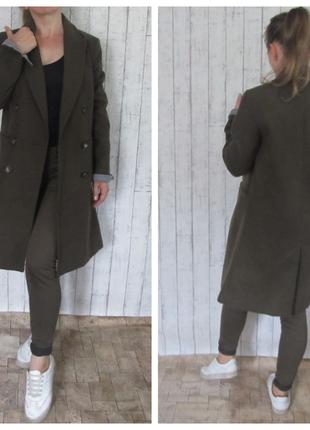 Пальто цвета хаки by topshop