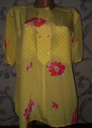 Брендовая блуза футболка escada шёлк