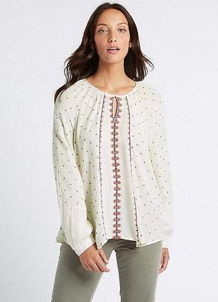 Вышиванка, блуза вышитая, сорочка с вискозы