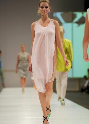 Шелковое платье by malene birger премиум бренд