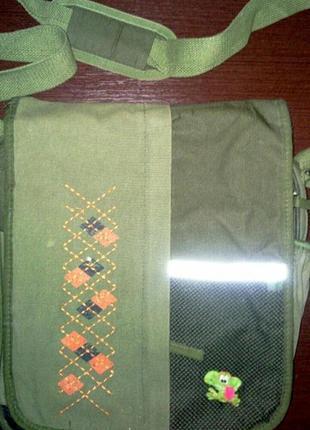 Функциональная сумка на длинной ручке, молодежный аксессуар
