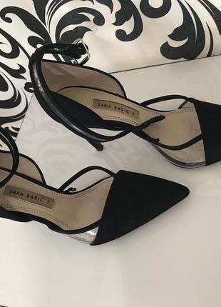 Zara туфли 24 см по стельке