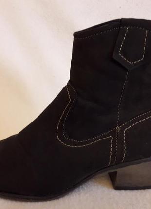 Демисезонные ботинки фирмы carina p. 38 стелька 24,5 см