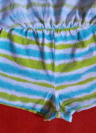 Комплект футболка и юбка-шорты для девочки 2-3 года4
