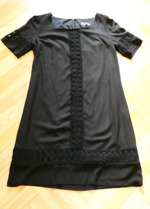 Строгое элегантное платье с вышивкой