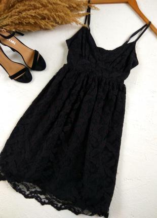Очень красивое гипюровое платье на бретельках от topshop