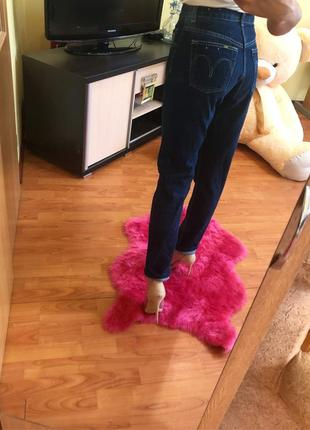 Нереальные  мом джинсы с завышенной талией