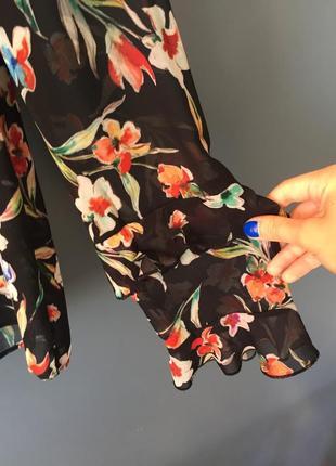 Блуза reserved в цветочный принт